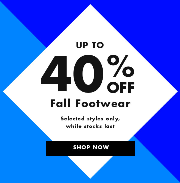 next Fall Footwear Sale
